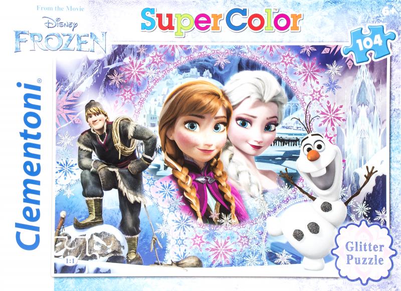 Clementoni Puzzle Glitter Frozen