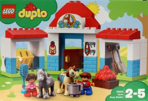Lego Duplo Stajnia z kucykami 2 – 5 lat