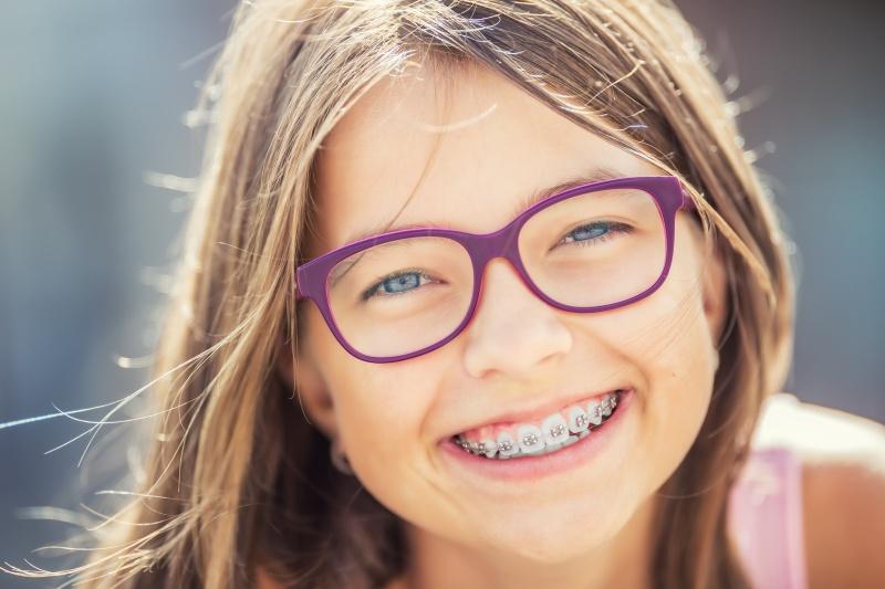 Zęby mleczne dziecka