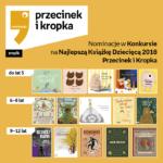 Nominacje Przecinek i Książka 2018