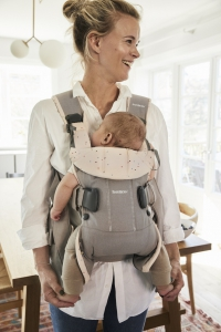 Baby Carrier One (2018) - Classic greyPink sprinkles,Cotton (3)