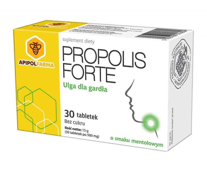 PROPOLIS FORTE o smaku mentolowym
