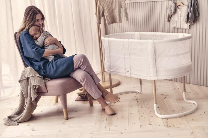 Baby Crib - White (22)